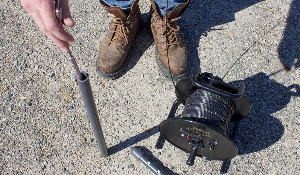 Designed to measure groundwater levels and draw down