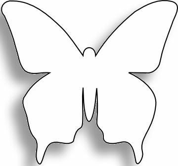 lbum De Imgenes Para La Inspiracin  Template Butterfly And