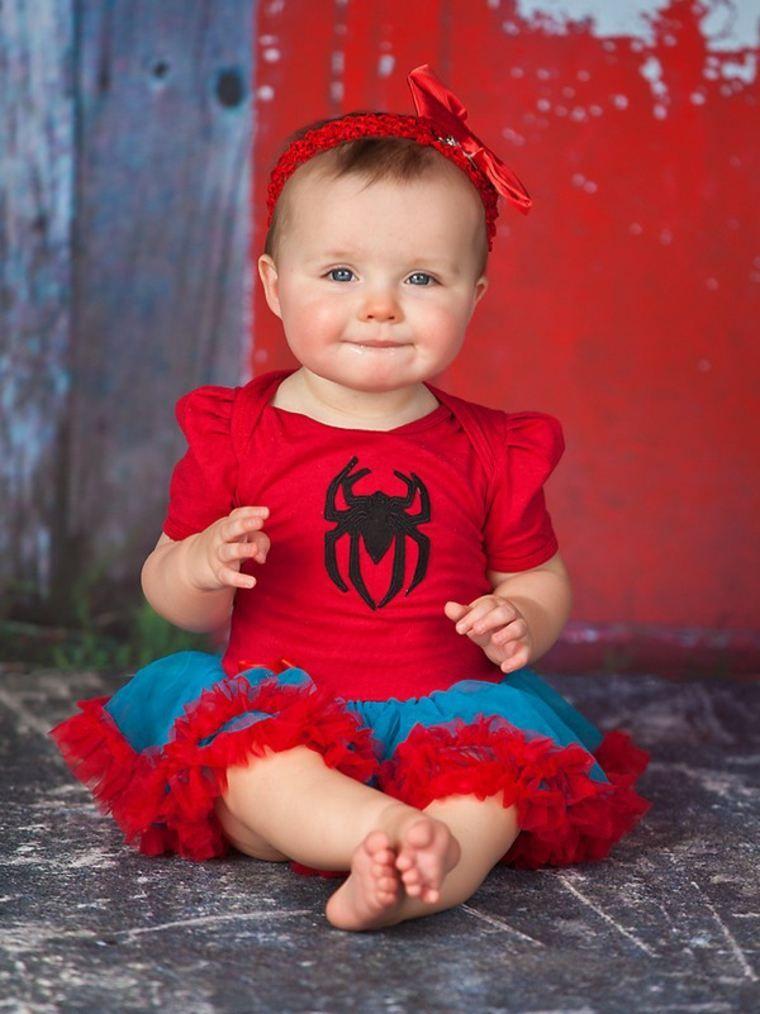 Déguisement bébé Halloween en 55 idées à croquer - décorations pour la maison   Spider woman ...