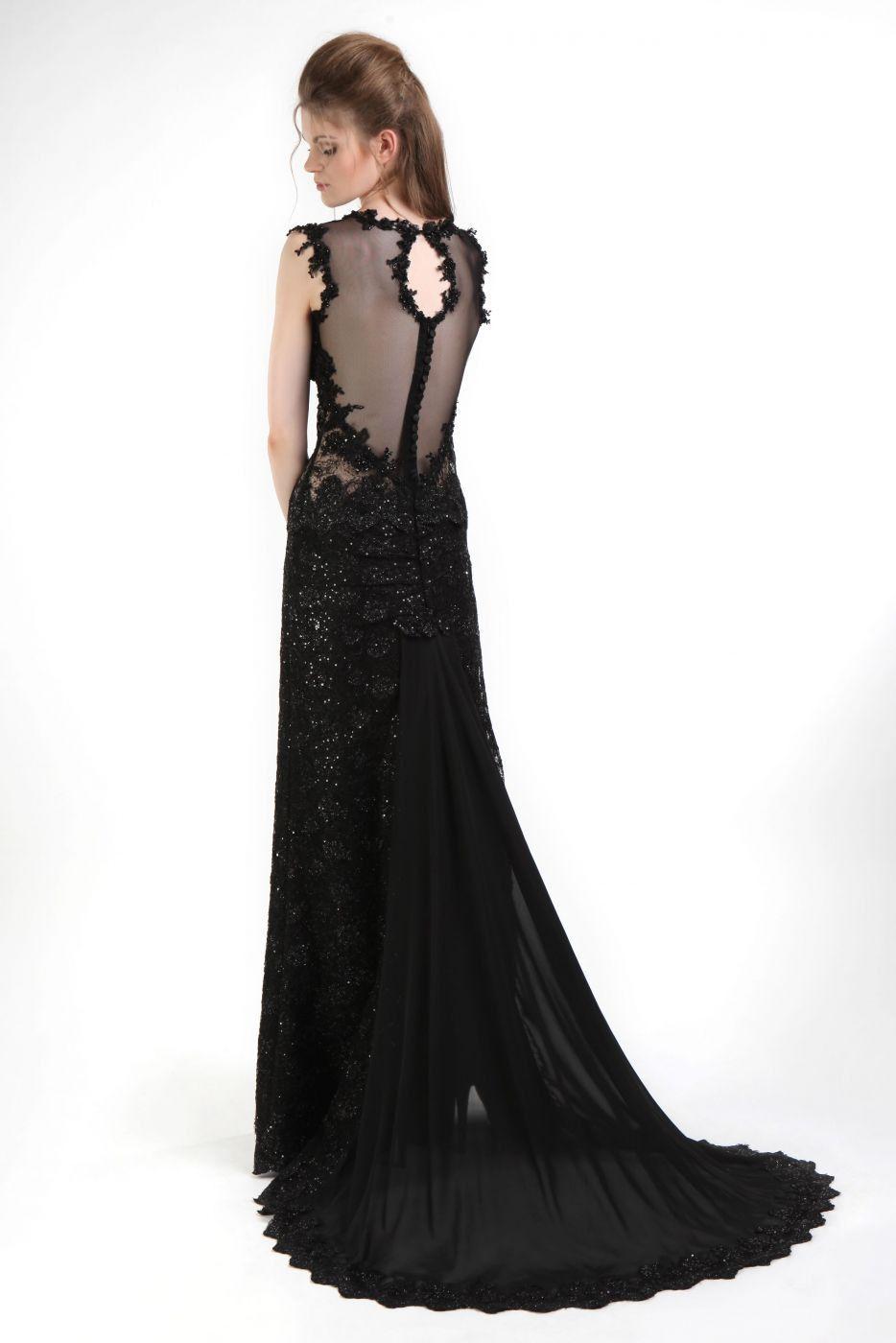 20 Erstaunlich Abendkleider Lang Schwarz Mit Spitze Stylish