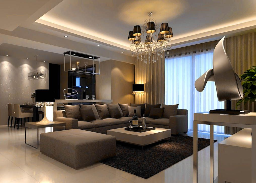 Stunning Modern Style Taupe Grey Living Room With Restoration Hardware Modena Sectional Replica In 2020 Brown Living Room Gold Living Room Brown Living Room Decor #taupe #and #grey #living #room