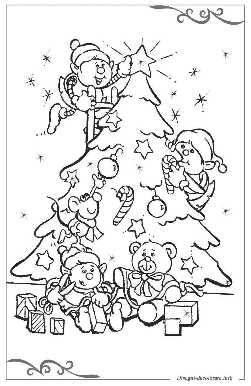 30 Migliore Disegni Alberi Di Natale Da Colorare Galleria Di