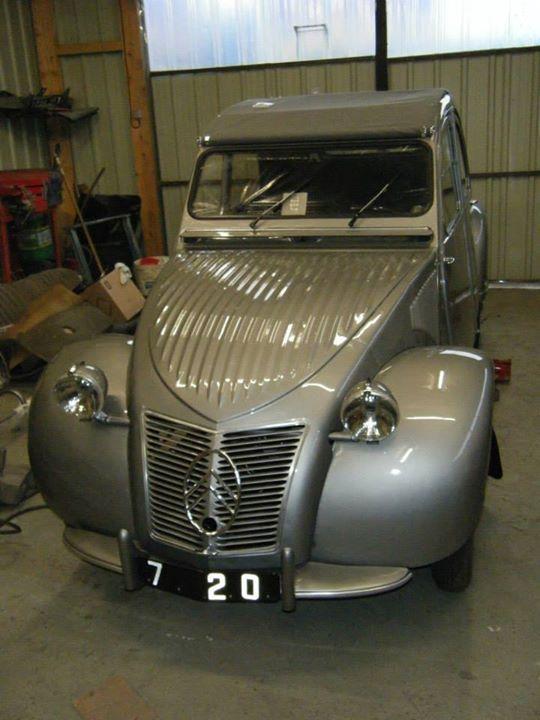 2cv a chassis 720 du 12 d u00e9cembre 1949 apr u00e8s restauration