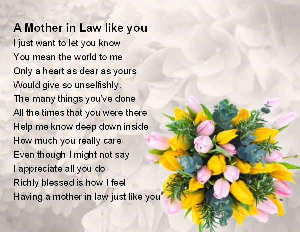 Best Mother In Law Birthday Quotes: Flowers Design + FREE