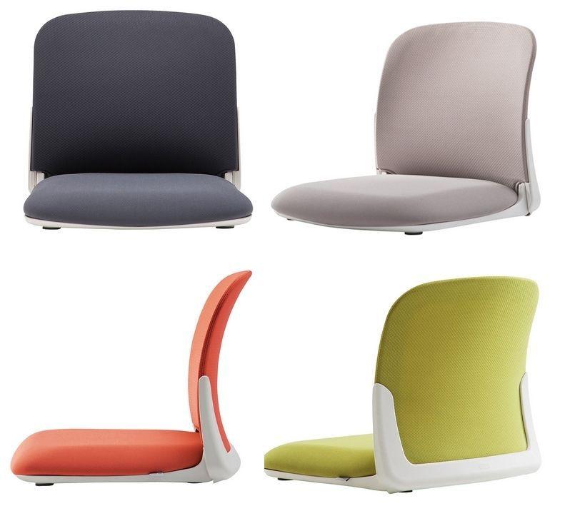 Ergonomic Floor Chair Folding Tatami Legless Seat For Low Table
