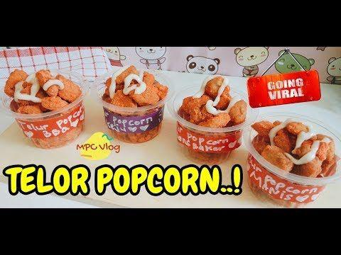 Imut Ngehits Telur Popcorn Jajanan Anak Jaman Now Youtube Food Drinks Dessert Food Receipes Food
