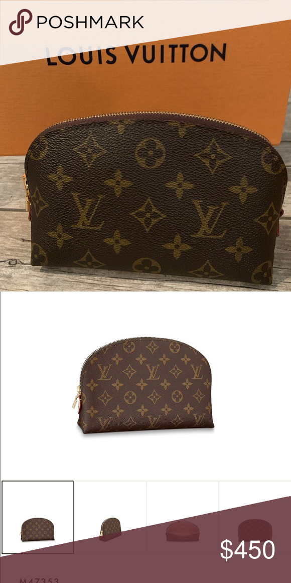Louis Vuitton Cosmetic Pouch Pm One Year Old Rarely Used Excellent Condition Louis Vuitton Bags Cosmetic Bags Cases Louis Vuitton