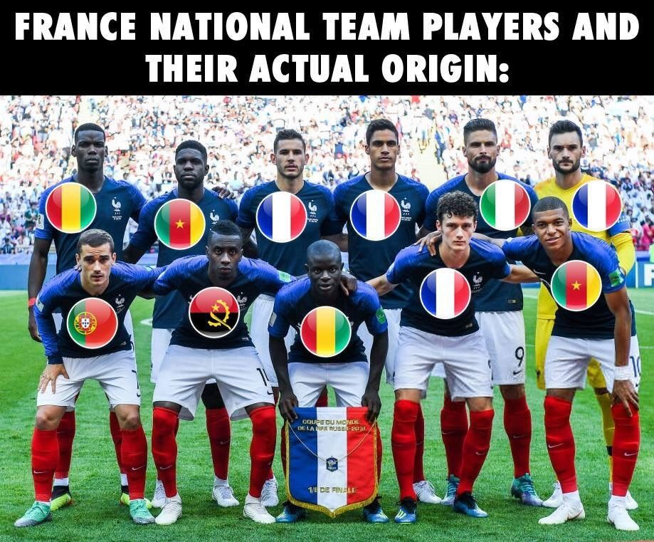 Congratulations to Frafrica. The first African team to be