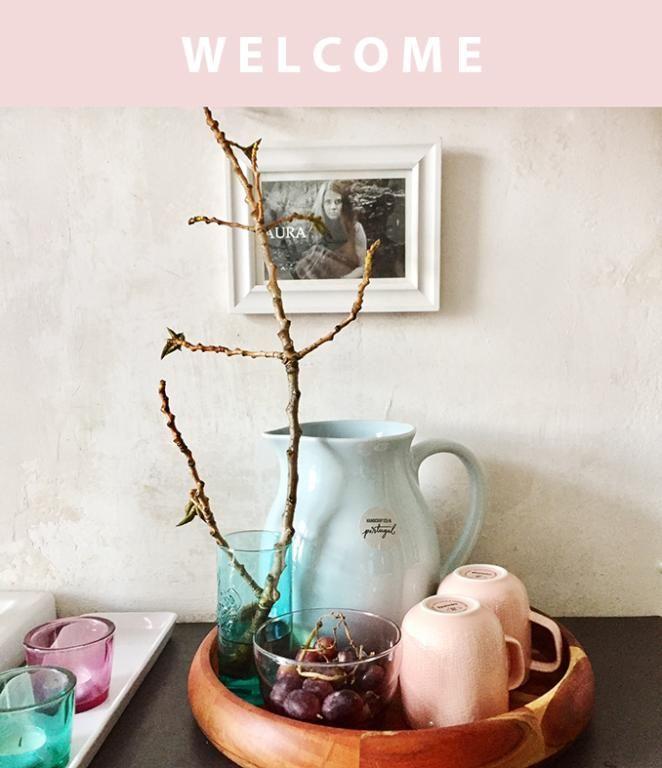 Wohnungs Inspiration frühlingshafte wohnungsinspiration mit pastelltönen krug tassen