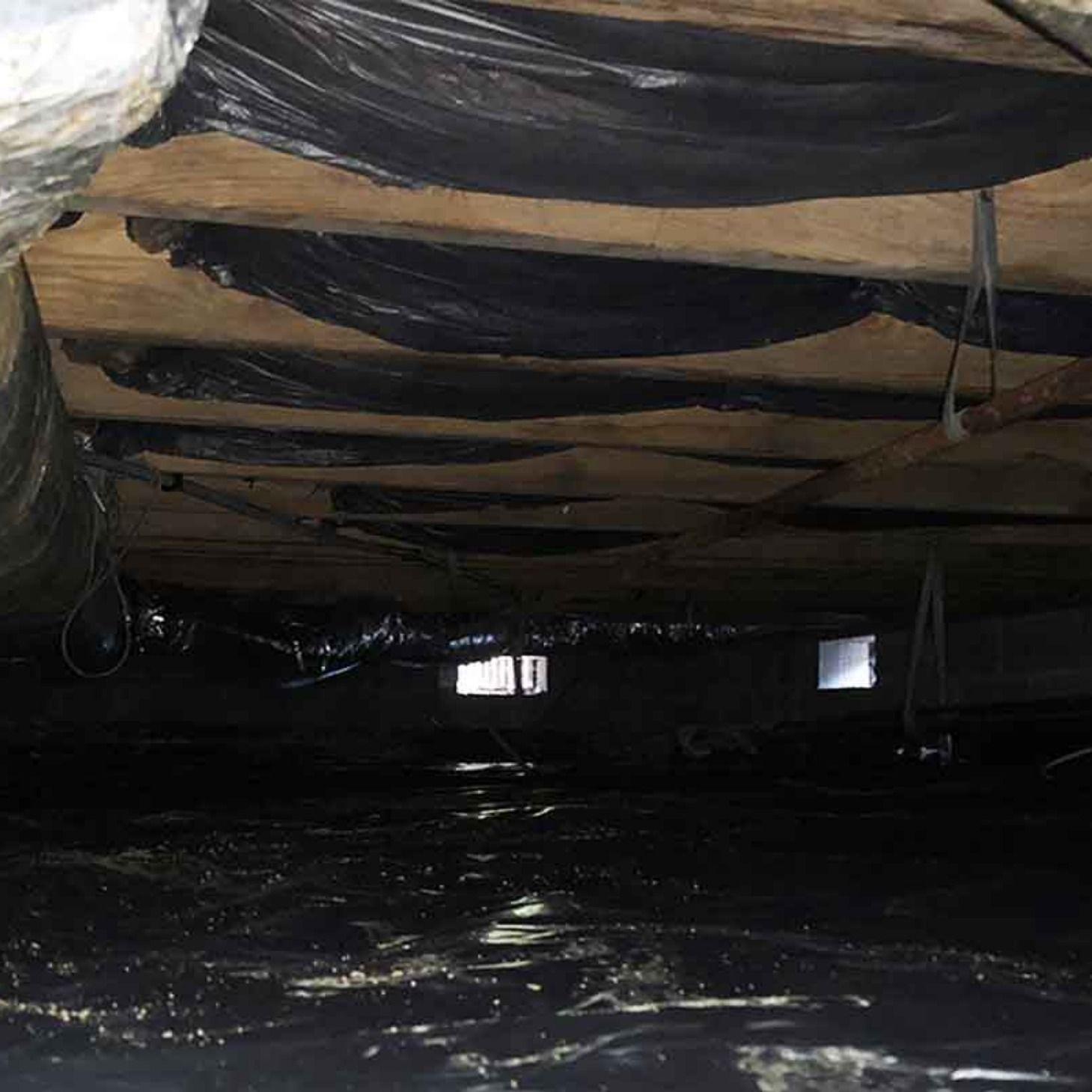 Crawl space insulation in hampton roads virginia crawl