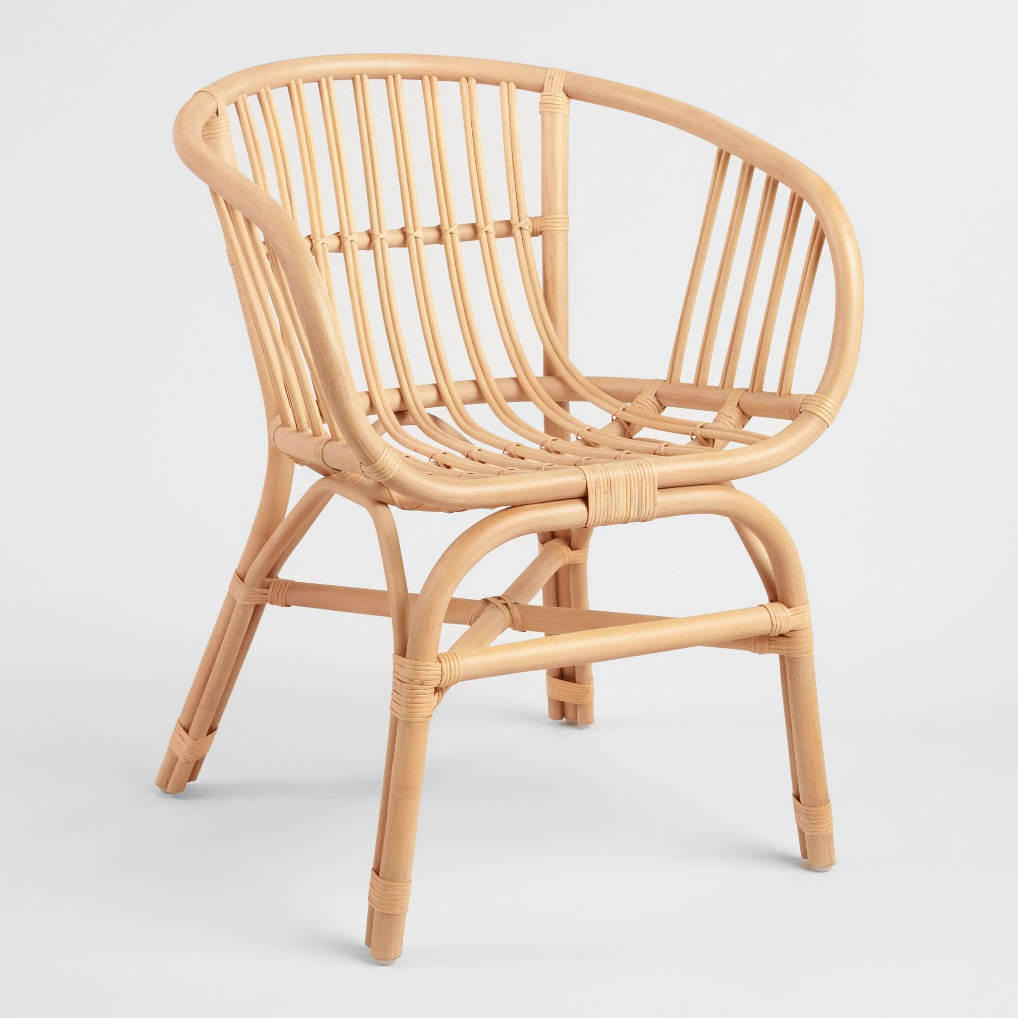 Natural Rattan Rachelle Chair Set Of 2 By World Market In