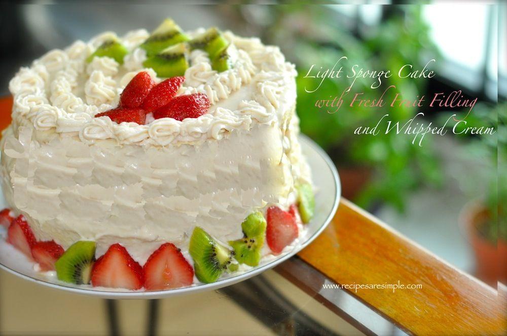 Italian Fruit Cake Recipes: Italian Fresh Fruit Cake Recipe