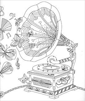 hidden nature colouring book - Nature Coloring Book
