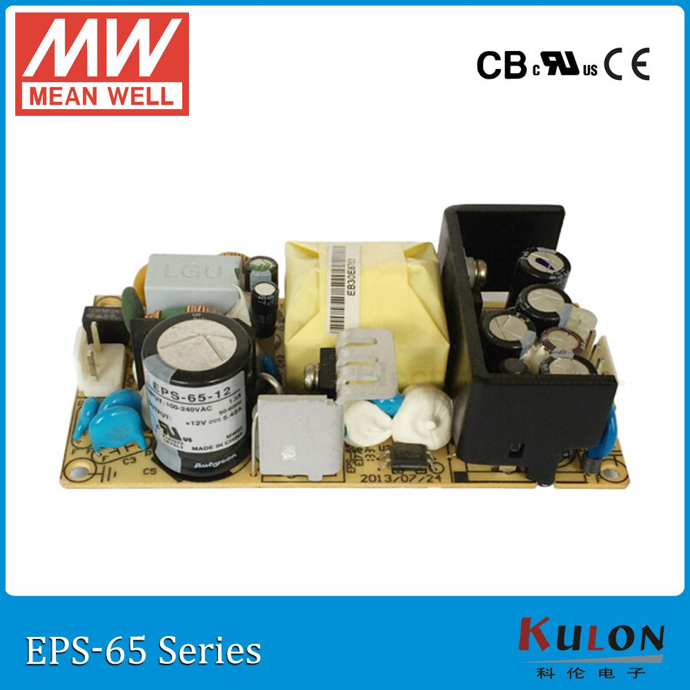 Original MEAN WELL EPS-65-48 48V 1.5A 65W meanwell PCB Power Supply ...