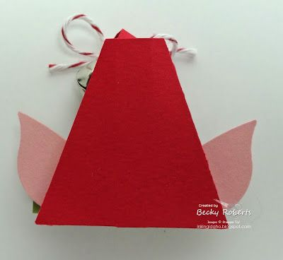 Inking Idaho: Elf Hat Clothespins | xmas projects | Pinterest