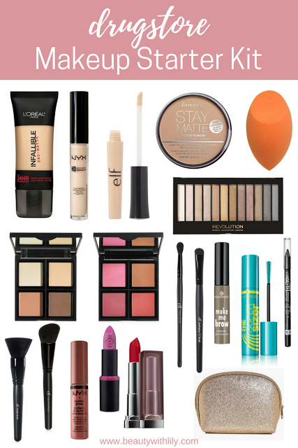 Makeup Starter Kit Makeup starter kit, Makeup for teens