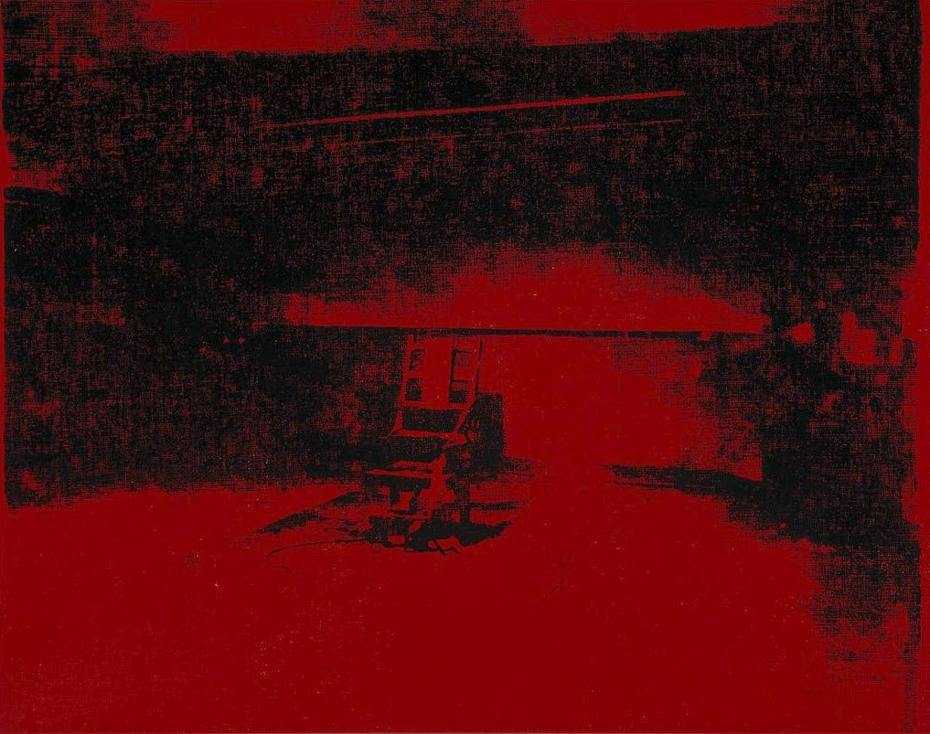 Electric chair andy warhol - Andy Warhol Red Disaster 1963 Electric Chairandy