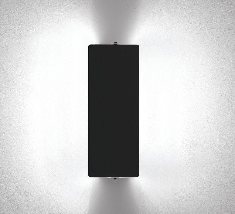 Wall light, Volet Pivotant Double, black, L34cm, H13cm - Nemo Lighting - Nedgis Lighting