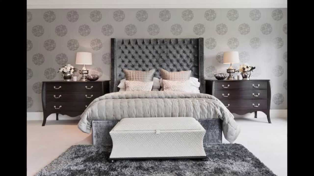 Grey Bedroom Ideas You Can Choose For Your House Delightfull Uniquelamps Bedroomlamps Bedsite Luxe Bedroom Gray Master Bedroom Modern Master Bedroom Design