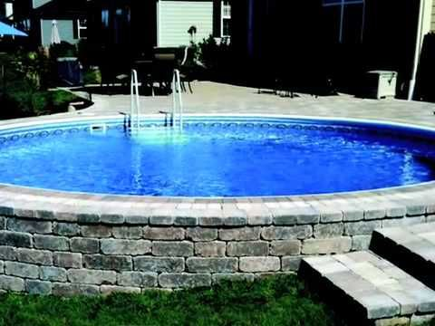 Inground Pools For Sale Radiant Pools For Sale At Clover Home Leisure In Rochester Ny Is A Backyard Pool Landscaping Pool Landscaping Swimming Pools Backyard