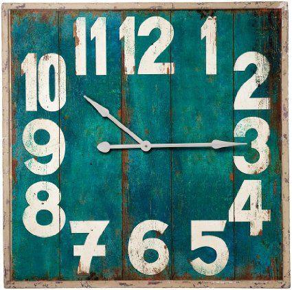 Kare 32774 Wanduhr Vintage Square 92 Cm Amazon De Kuche
