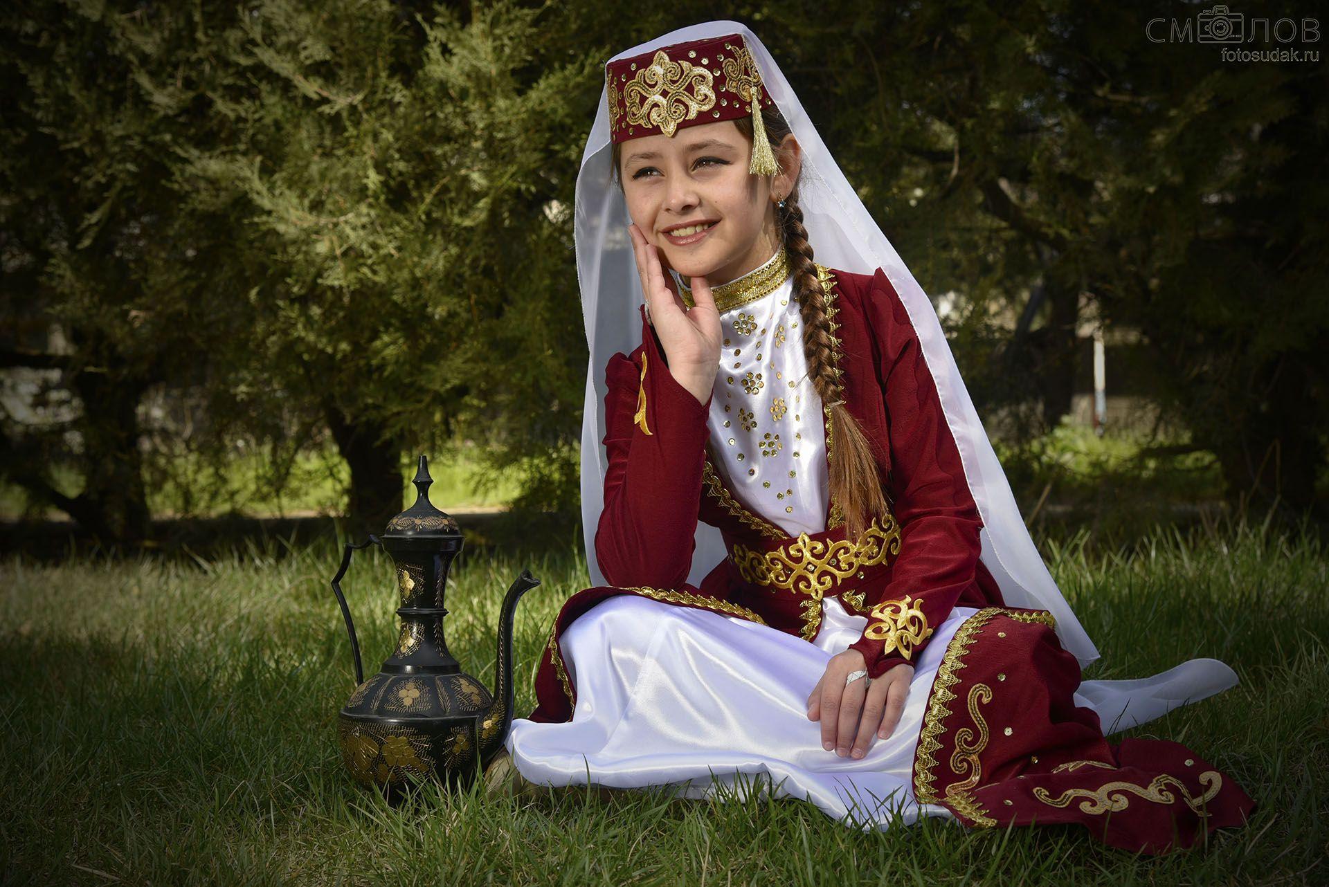 Татарский национальный костюм   Костюм, Модели ...