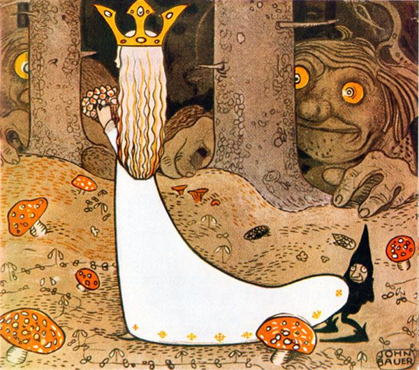 Princess Daga Watched By Trolls Into The Forest John