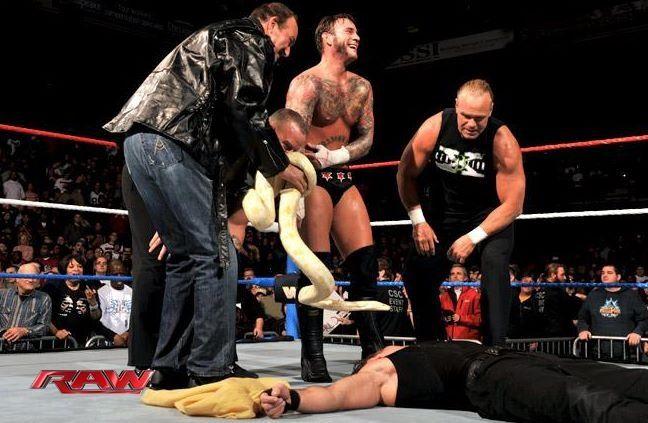 Jake Roberts & CM Punk