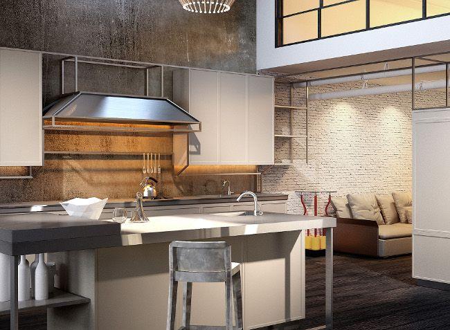 Snaidero frame kitchen italian