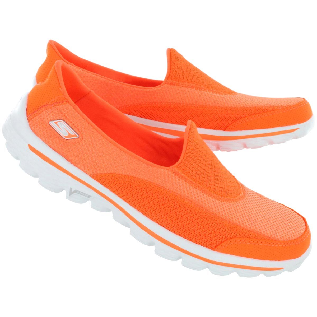 skechers on the go womens orange Sale