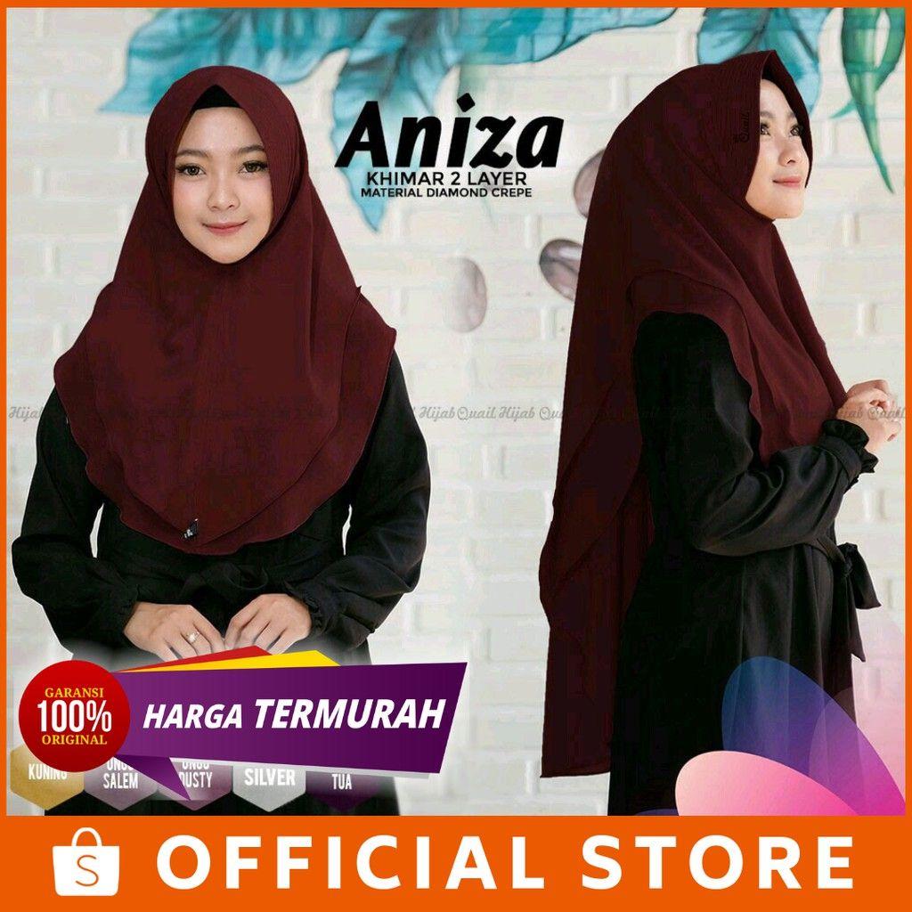 Temrurah Shopee Jilbab Aniza By Quail Hijab Jilbab Adem Aniza Quail Hijab Shopee Indonesia Produk