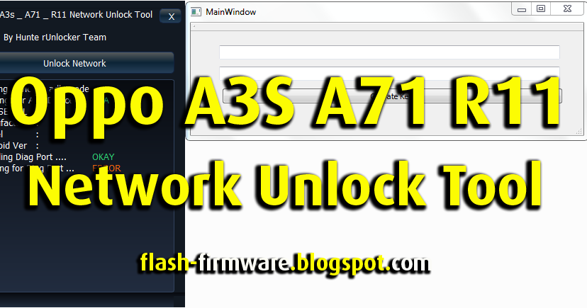 Download Oppo A3S A71 R11 Network Unlock    | Freeware in