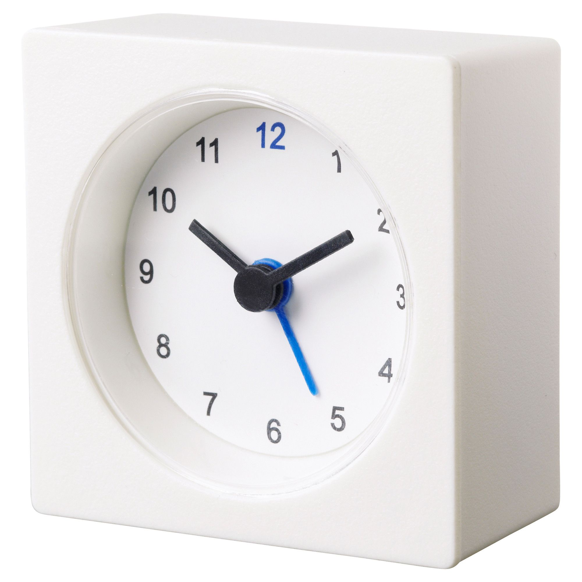Väckis Alarm Clock White  Alarm Clocks Clocks And Ikea Bathroom Beauteous Small Wall Clock For Bathroom Decorating Inspiration