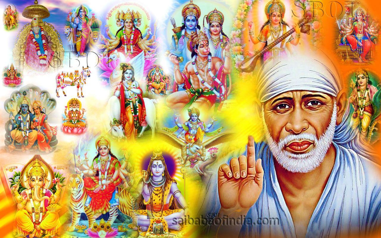 Undefined Sai Baba Wallpapers Hindu Gods Sai Baba Photos