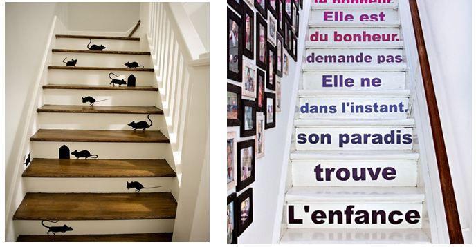Décoration Escalier 2   Escalier   Pinterest