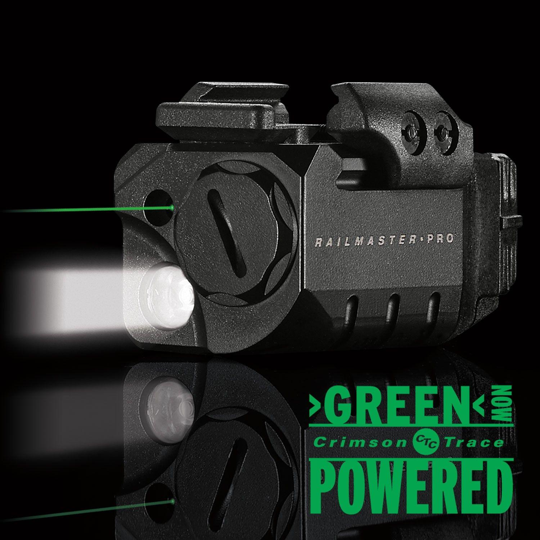 Crimson Trace Cmr 204 Rail Master Pro Universal Green