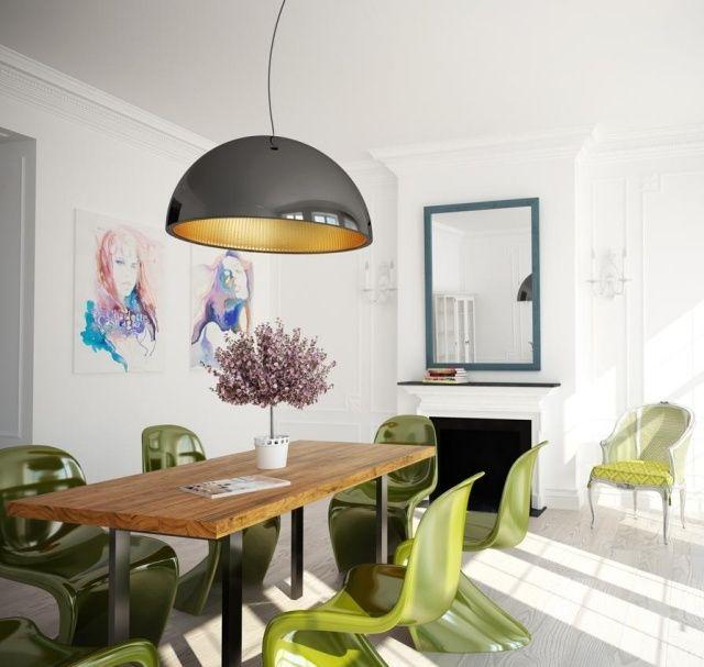 Table salle à manger moderne- 30 idées originales Pinterest Diners