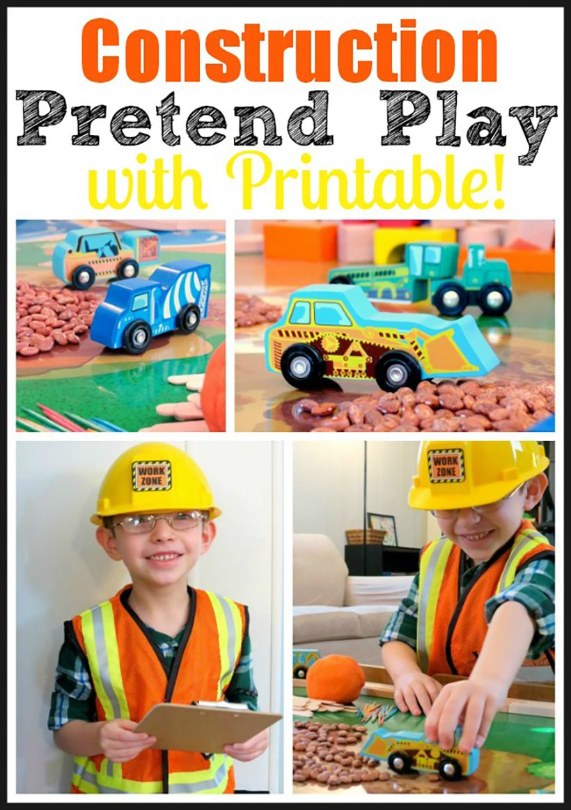 Construction Worker Pretend Play Ideas for Kids ...
