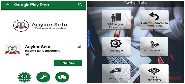 CBDT Launched Aaykar Setu App to Pay Taxes & to Apply for