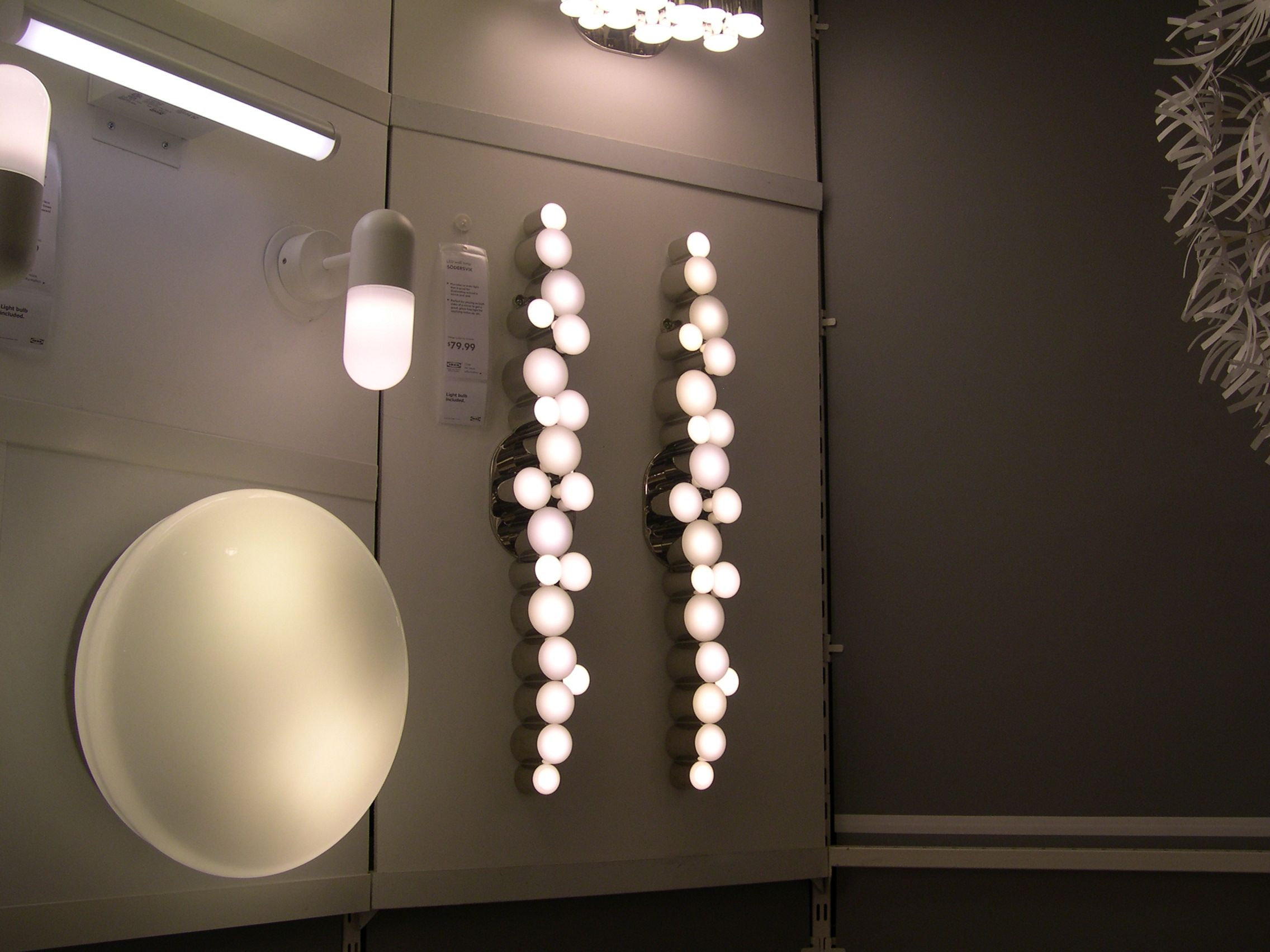 Love These Cer Bubble Wall Lights At Ikea Not Sure Where We D Use Them Bathrooms