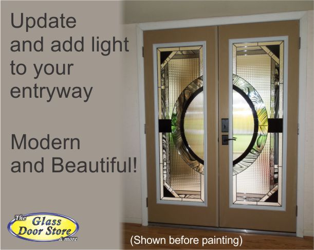 Jessica Modern Glass Door Inserts For Double Doors Glass Door Fiberglass Door Modern Glass