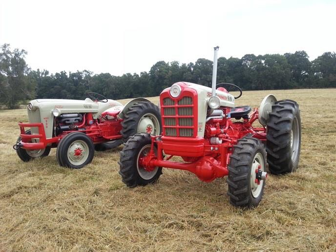 1957 Ford 600 and 1958 Ford 861 power master with an