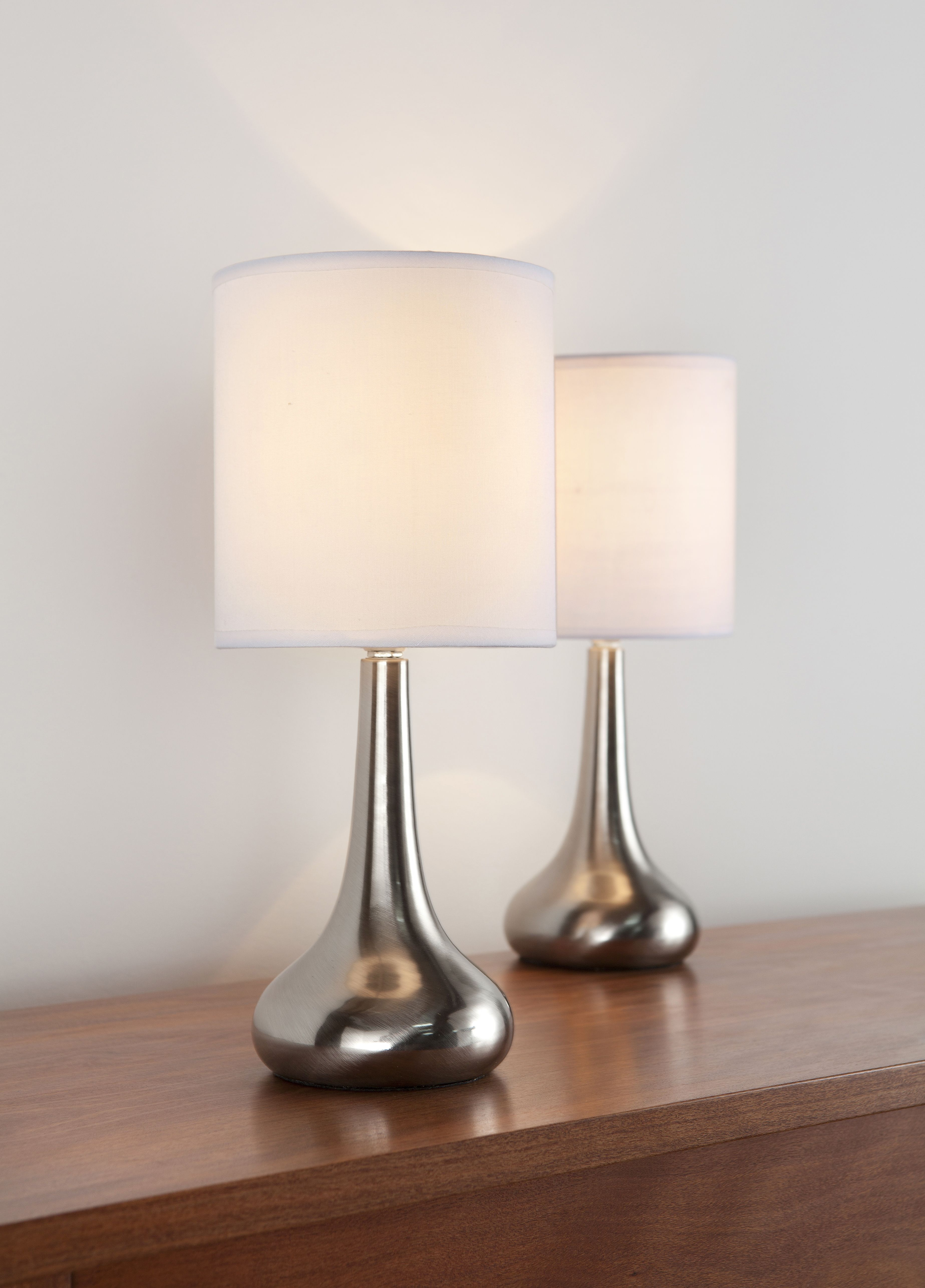 Brilliant flute touch lamps 2 pack bunnings warehouse