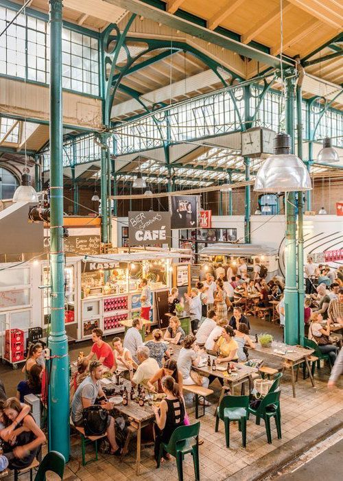 Markthalle Neun is a great way to get a taste of Berlin's best restaurants—present and future.: