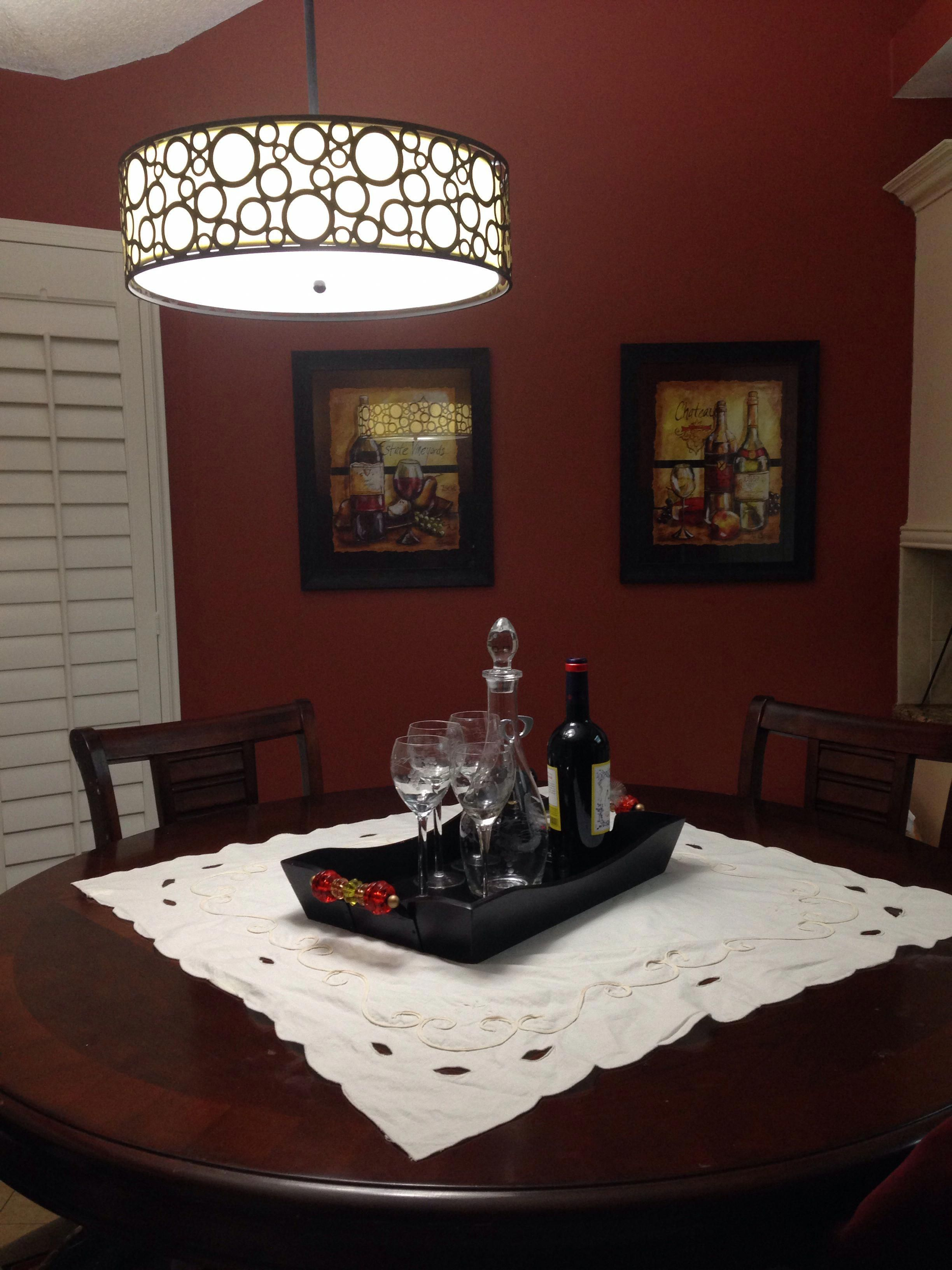 for the wine lovers, a wine themed kitchen! #