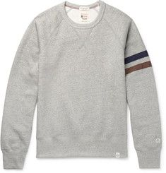 Kingsman+ Todd Snyder + Champion Harry's Fleece-Back Cotton-Blend Jersey Sweatshirt
