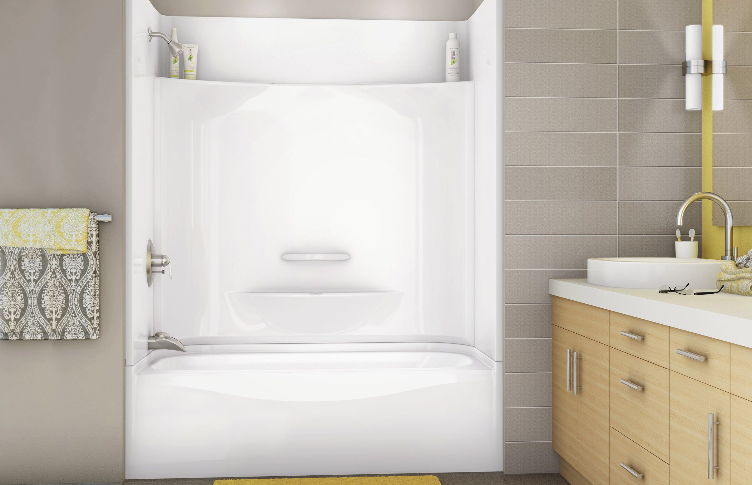 Perfect KDTS 3060 Alcove Or Tub Showers Bathtub   MAAX Professional