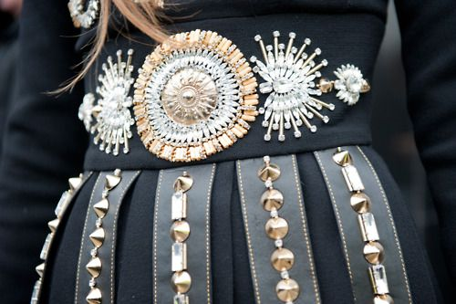 This embellishment brings out the magpie in us!
