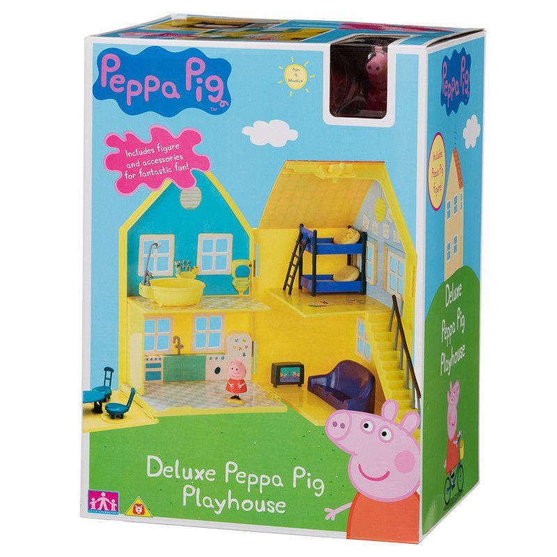 Peppa Pig Deluxe Playhouse Peppa Pig Play Houses Playset