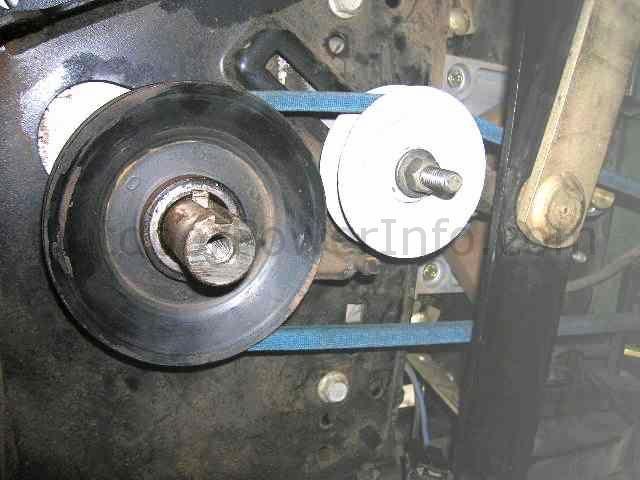 john deere 165 175 185 hydro drive belt engine pulley. Black Bedroom Furniture Sets. Home Design Ideas